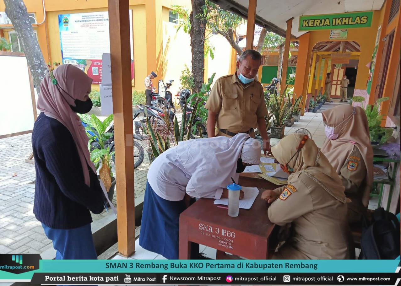 Sman 3 Rembang Buka Kko Pertama Di Kabupaten Rembang