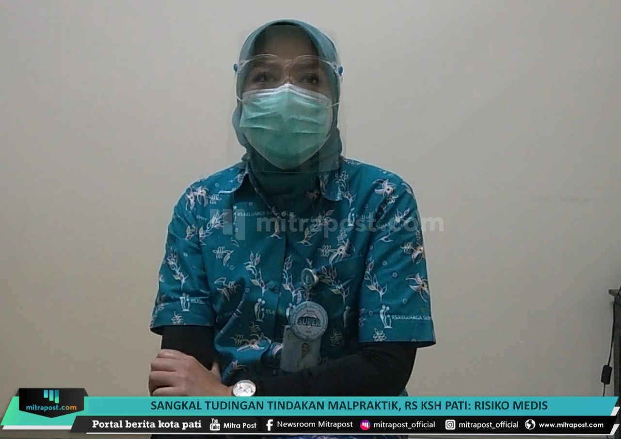 Sangkal Tudingan Tindakan Malpraktik Rs Ksh Pati Risiko Medis - Mitrapost.com