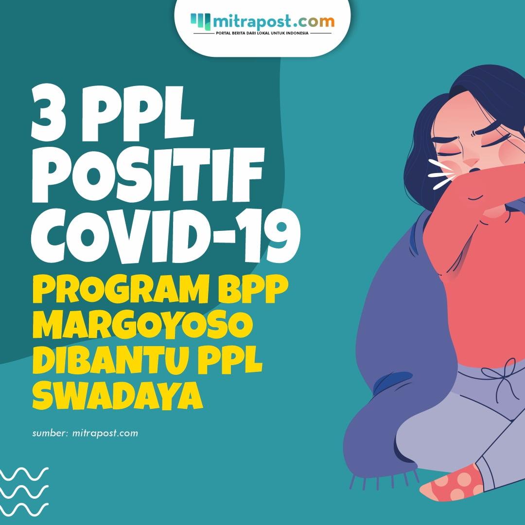 3 PPL Positif Covid-19, Program BPP Margoyoso Dibantu PPL Swadaya a