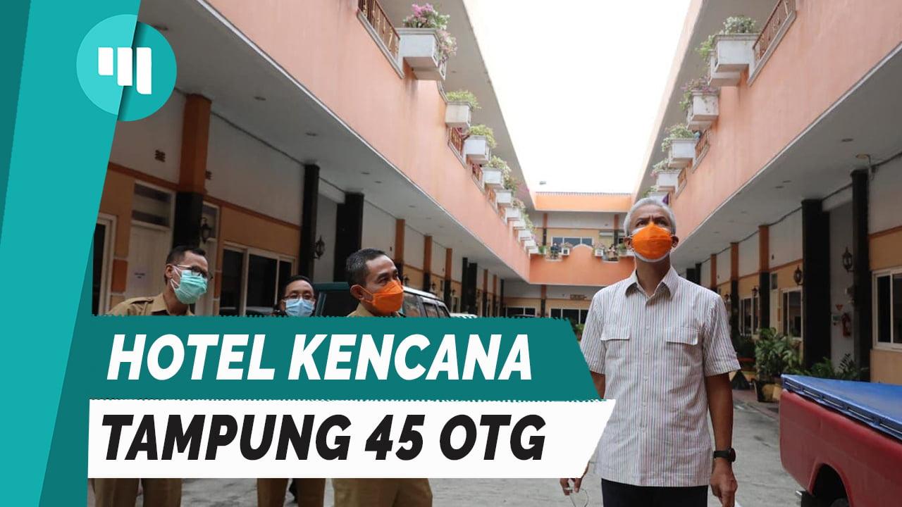 SEHARI DIBUKA, HOTEL KENCANA TAMPUNG 45 OTG
