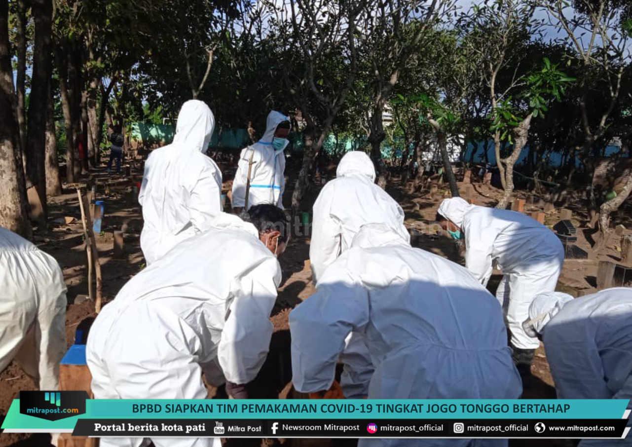 Bpbd Siapkan Tim Pemakaman Covid 19 Tingkat Jogo Tonggo Bertahap - Mitrapost.com