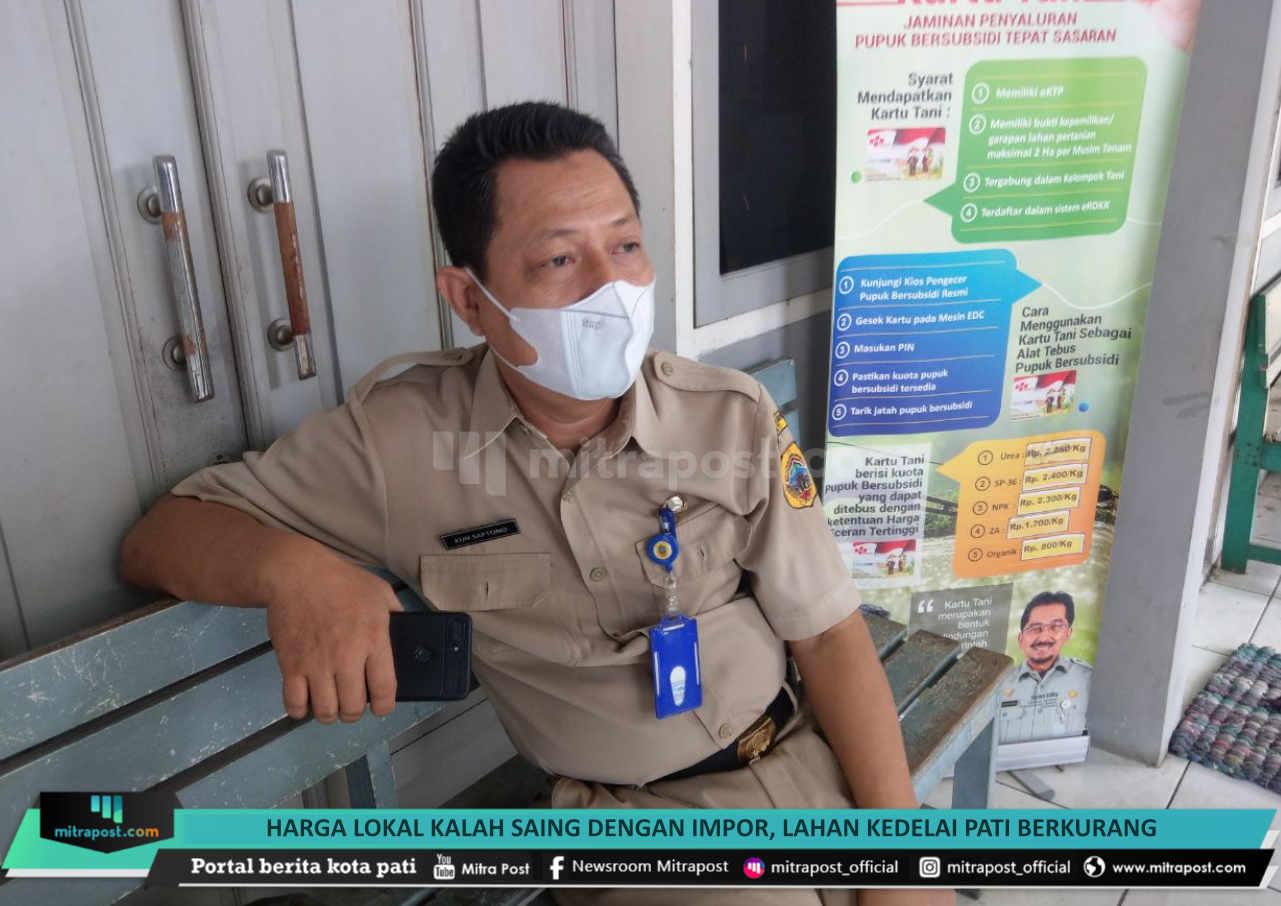 Harga Lokal Kalah Saing Dengan Impor Lahan Kedelai Pati Berkurang - Mitrapost.com