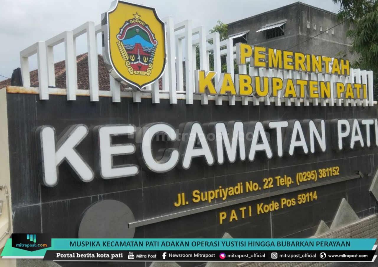 Muspika Kecamatan Pati Adakan Operasi Yustisi Hingga Bubarkan Perayaan Sedekah Bumi 1 - Mitrapost.com