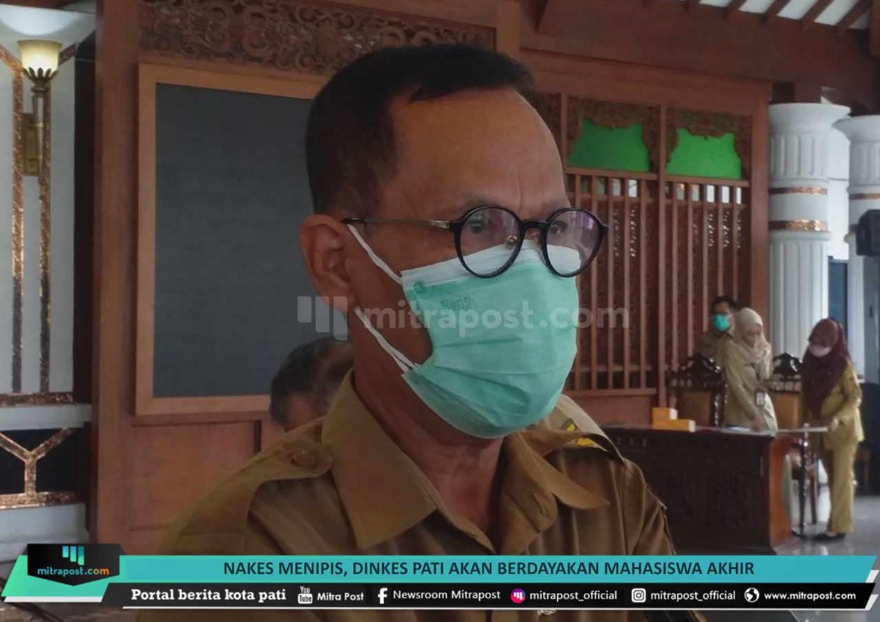 Nakes Menipis Dinkes Pati Akan Perdayakan Mahasiswa Akhir - Mitrapost.com