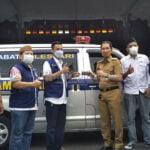 Nasdem Kudus Pinjamkan Mobil Ambulan Ke Pemkab Kudus