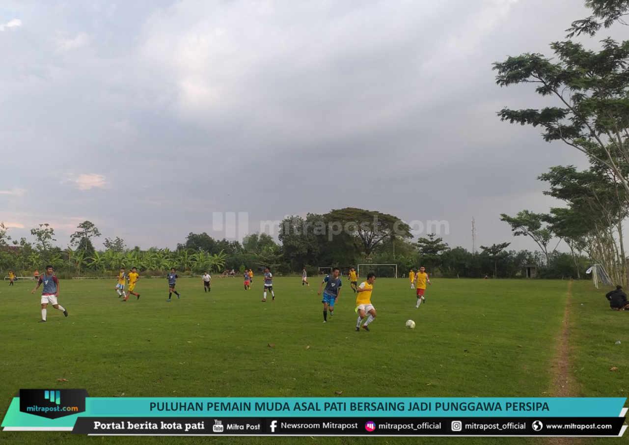 Puluhan Pemain Muda Asal Pati Bersaing Jadi Punggawa Persipa - Mitrapost.com