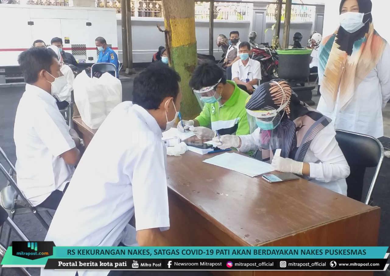RS Kekurangan Nakes, Satgas Covid-19 Pati akan Berdayakan Nakes Puskesmas