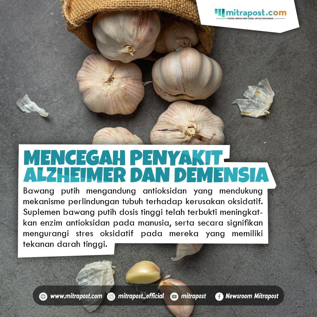 Bawang putih untuk kesehatan di masa pandemi
