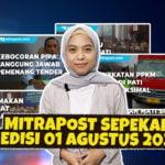 Mitrapost Sepekan Edisi 01 Agustus 2021 - Mitrapost.com