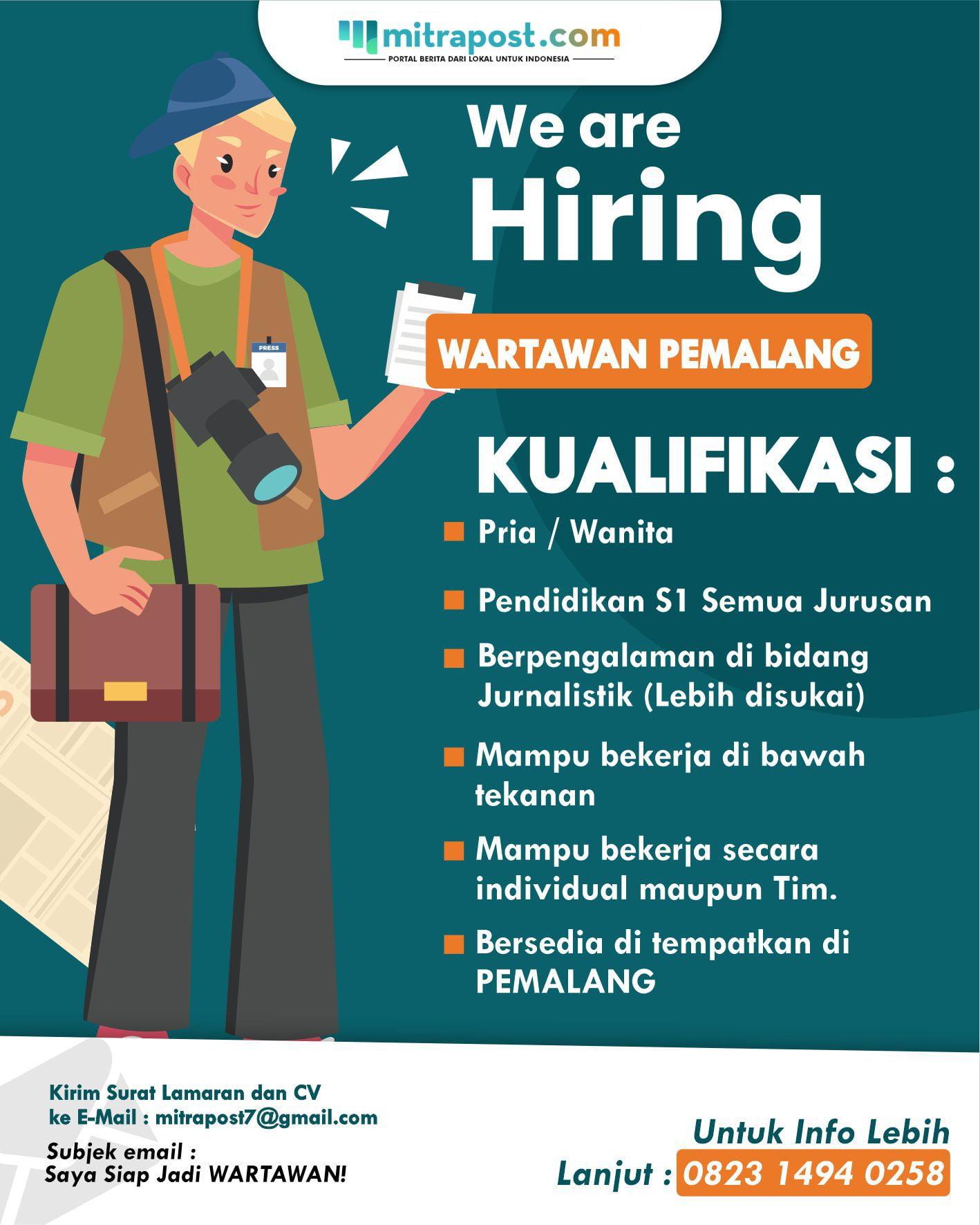 Lowongan Pekerjaan Pemalang