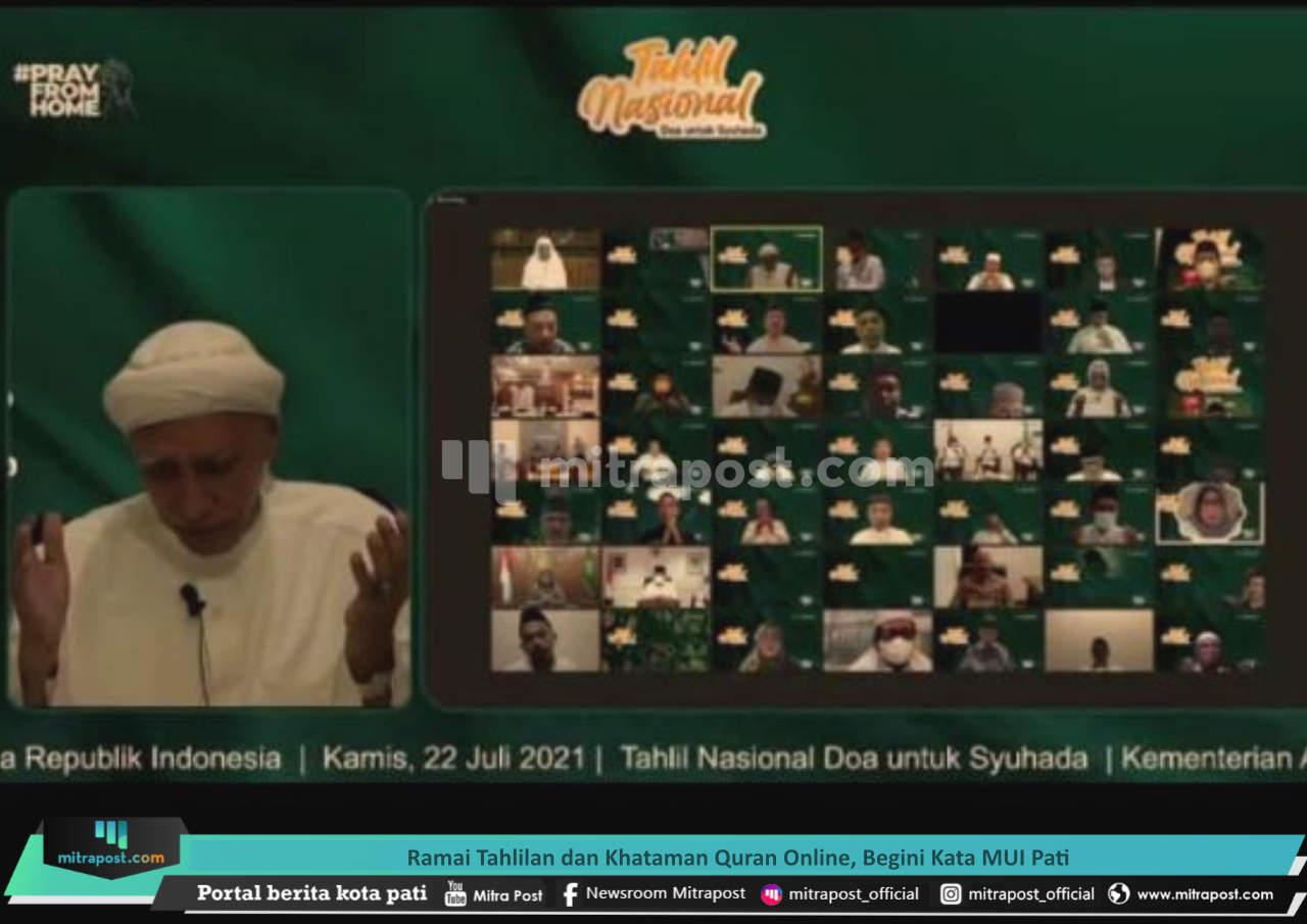 Ramai Tahlilan Dan Khataman Quran Online, Begini Kata Mui Pati