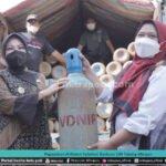 Paguyuban Di Klaten Salurkan Bantuan 100 Tabung Oksigen