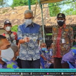 Ganjar Tinjau Vaksinasi Covid-19 Di Panti Sosial Pangrukti Mulyo Rembang