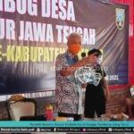 PEROLEH SUVENIR, GANJAR HADIAHI COVID RANGER REMBANG UANG TUNAI