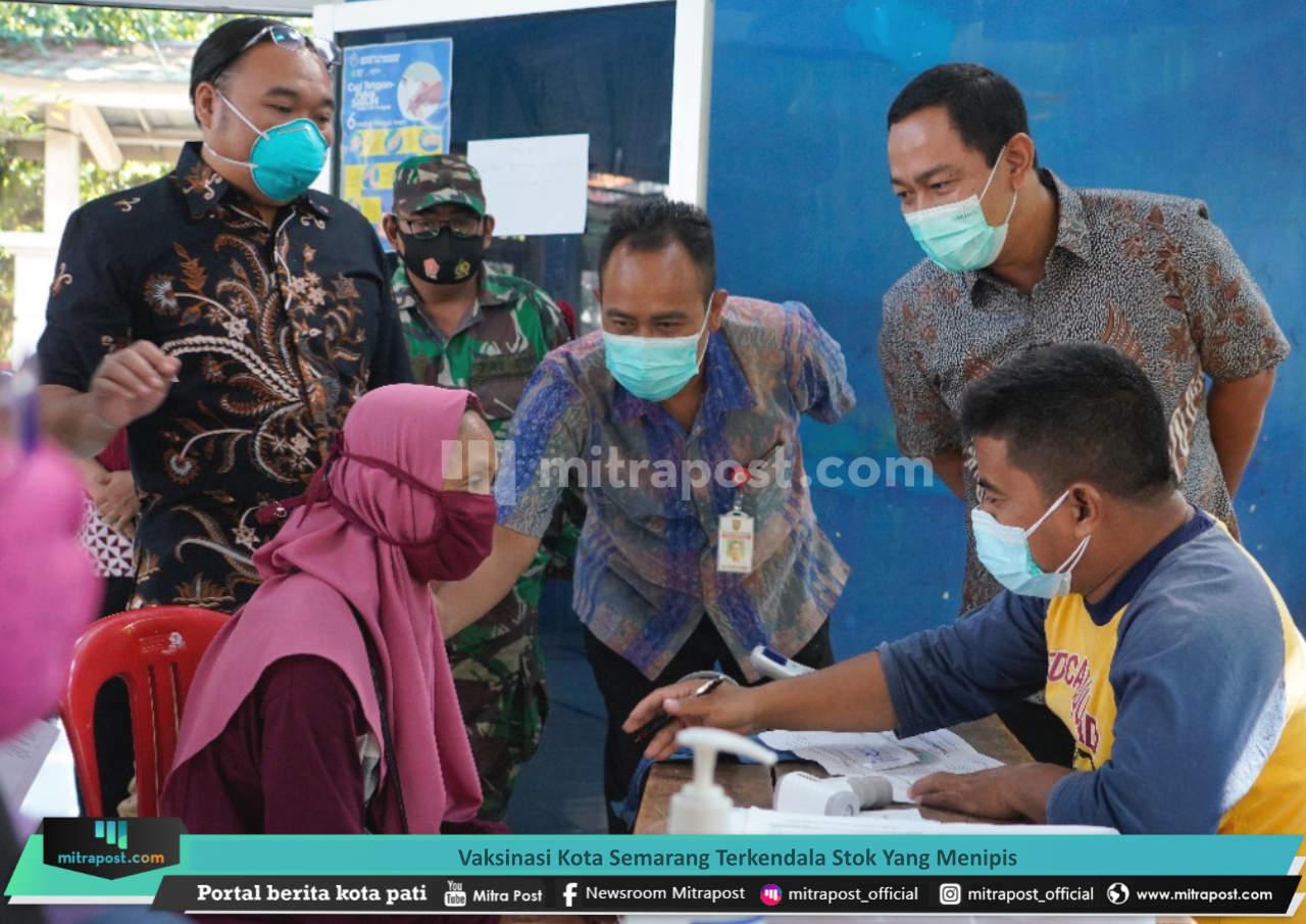 Vaksinasi Kota Semarang Terkendala Stok Yang Menipis