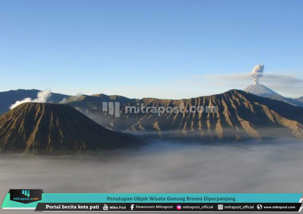 Penutupan Objek Wisata Gunung Bromo Diperpanjang