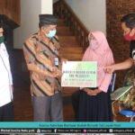 Baznas Salurkan Bantuan Bedah Rumah Tak Layak Huni
