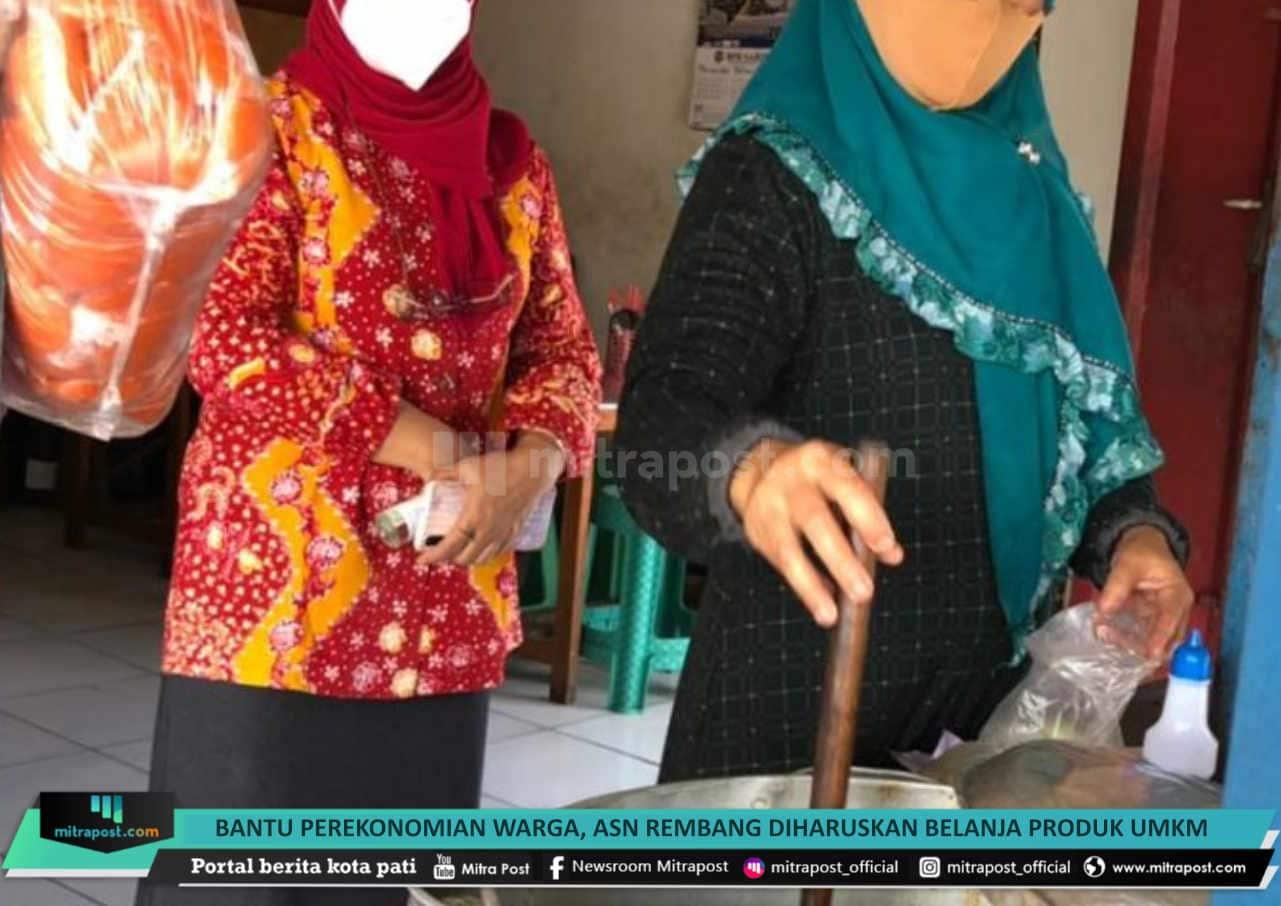 Bantu Perekonomian Warga Asn Rembang Diharuskan Belanja Produk Umkm - Mitrapost.com