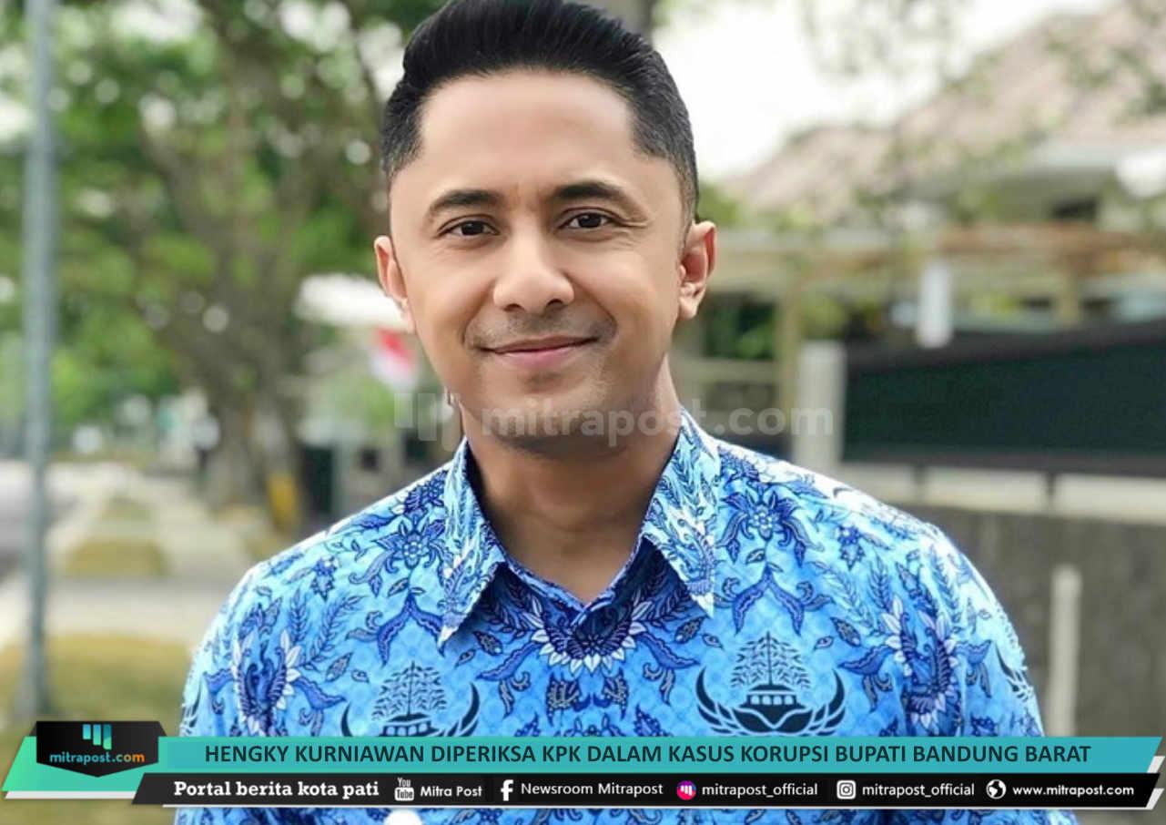 Hengky Kurniawan Diperiksa Kpk Dalam Kasus Korupsi Bupati Bandung Barat - Mitrapost.com