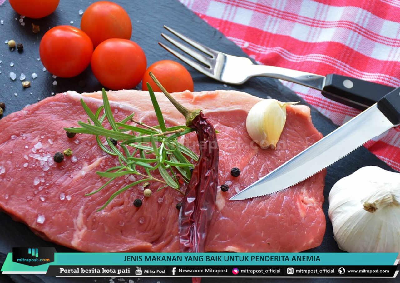 Jenis Makanan Yang Baik Untuk Penderita Anemia - Mitrapost.com