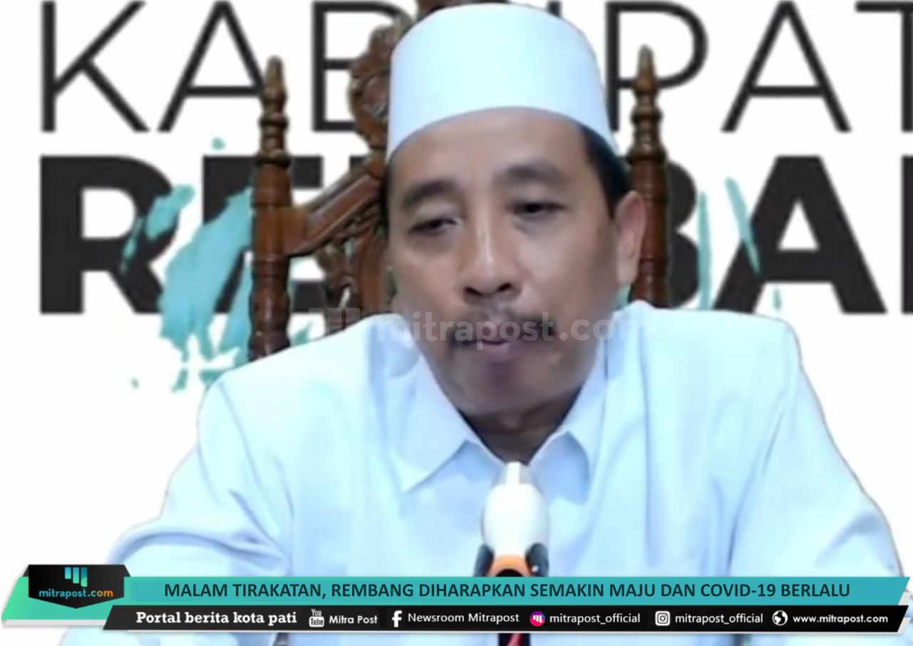 Malam Tirakatan Rembang Diharapkan Semakin Maju Dan Covid 19 Berlalu - Mitrapost.com