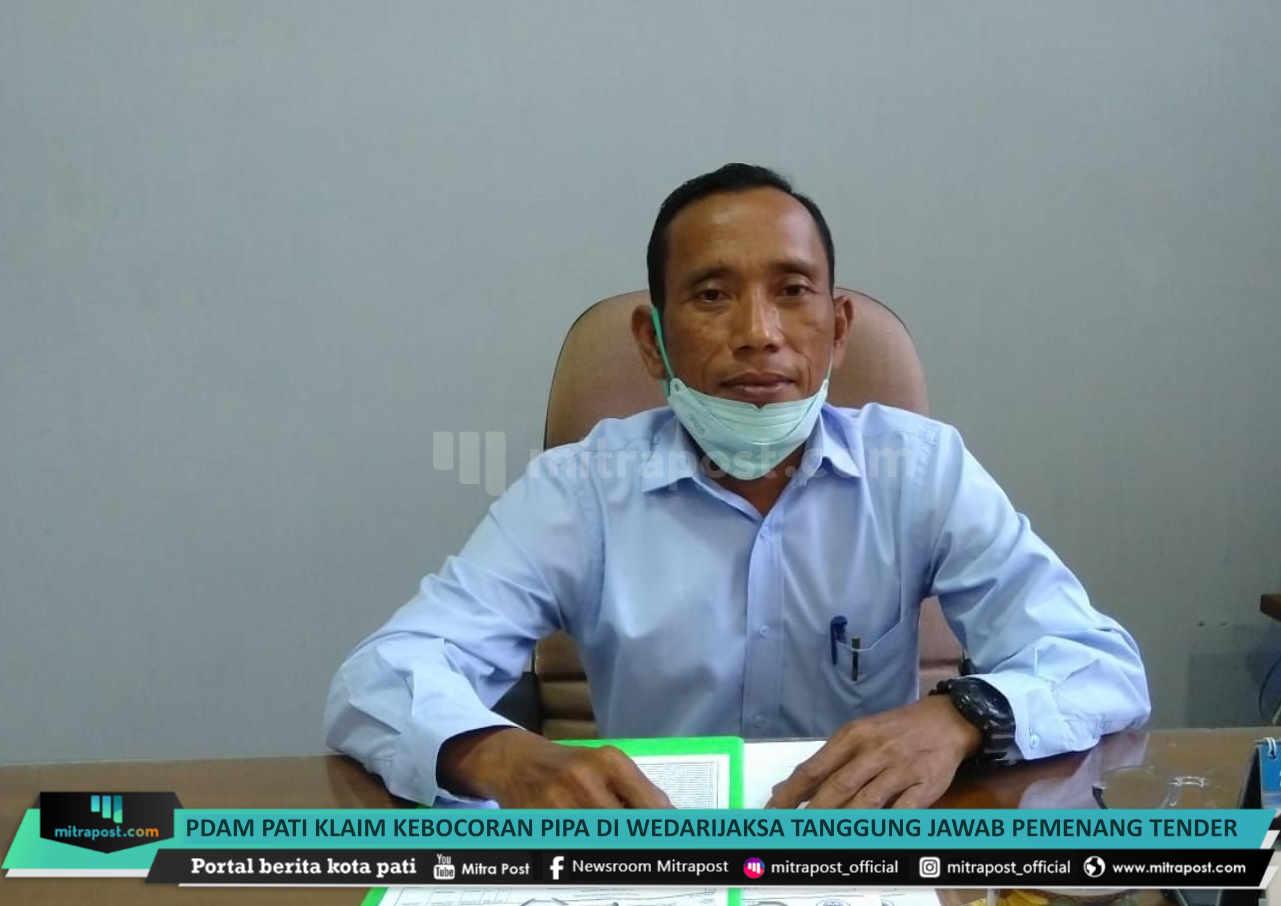 Pdam Pati Klaim Kebocoran Pipa Di Wedarijaksa Tanggung Jawab Pemenang Tender - Mitrapost.com