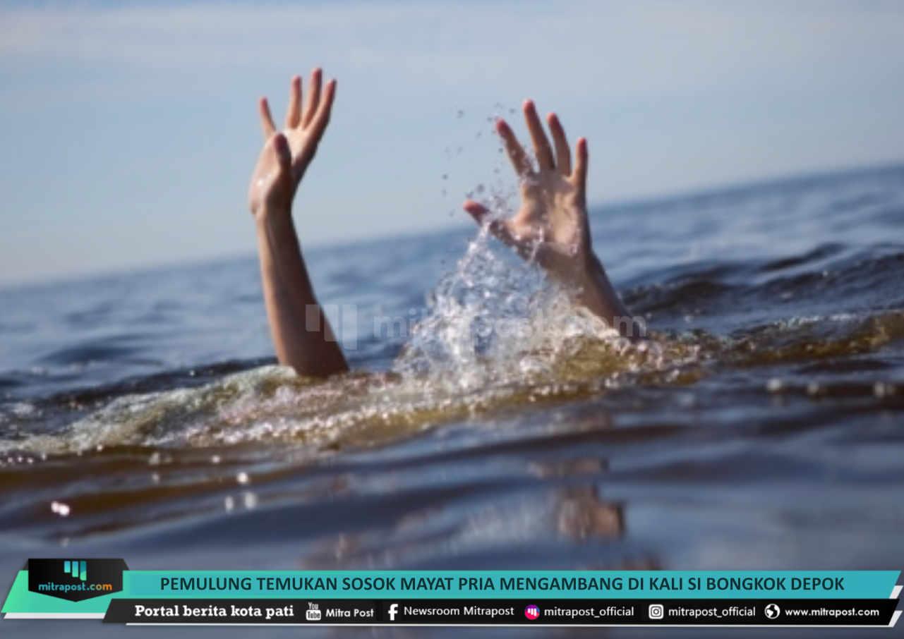 Pemulung Temukan Sosok Mayat Pria Mengambang Di Kali Si Bongkok Depok - Mitrapost.com