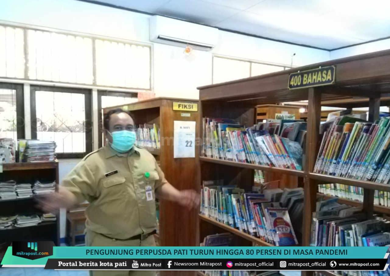 Pengunjung Perpusda Pati Turun Hingga 80 Persen Di Masa Pandemi - Mitrapost.com