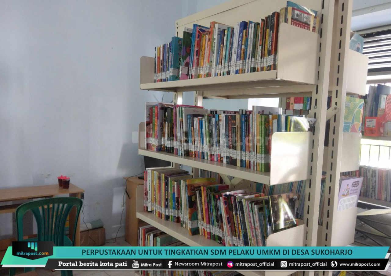 Perpustakaan Untuk Tingkatkan Sdm Pelaku Umkm Di Desa Sukoharjo - Mitrapost.com