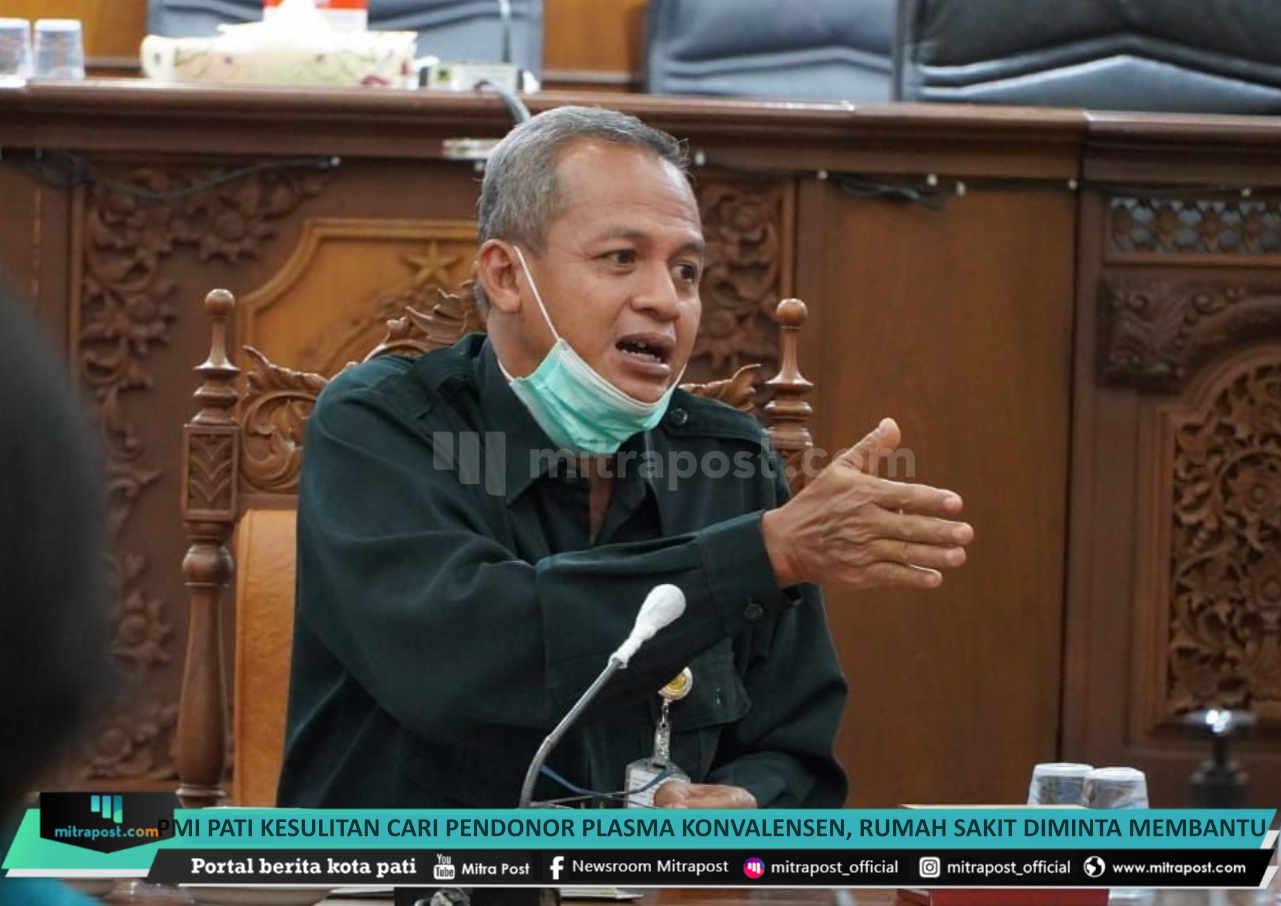 Pmi Pati Kesulitan Cari Pendonor Plasma Konvalensen Rumah Sakit Diminta Membantu - Mitrapost.com