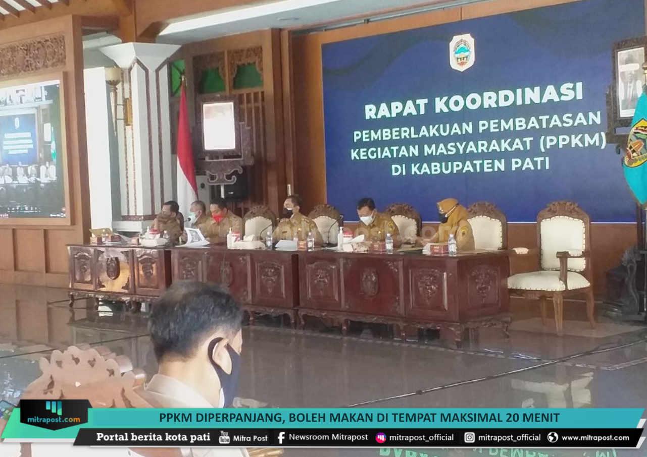 Ppkm Diperpanjang Boleh Makan Di Tempat Maksimal 20 Menit - Mitrapost.com