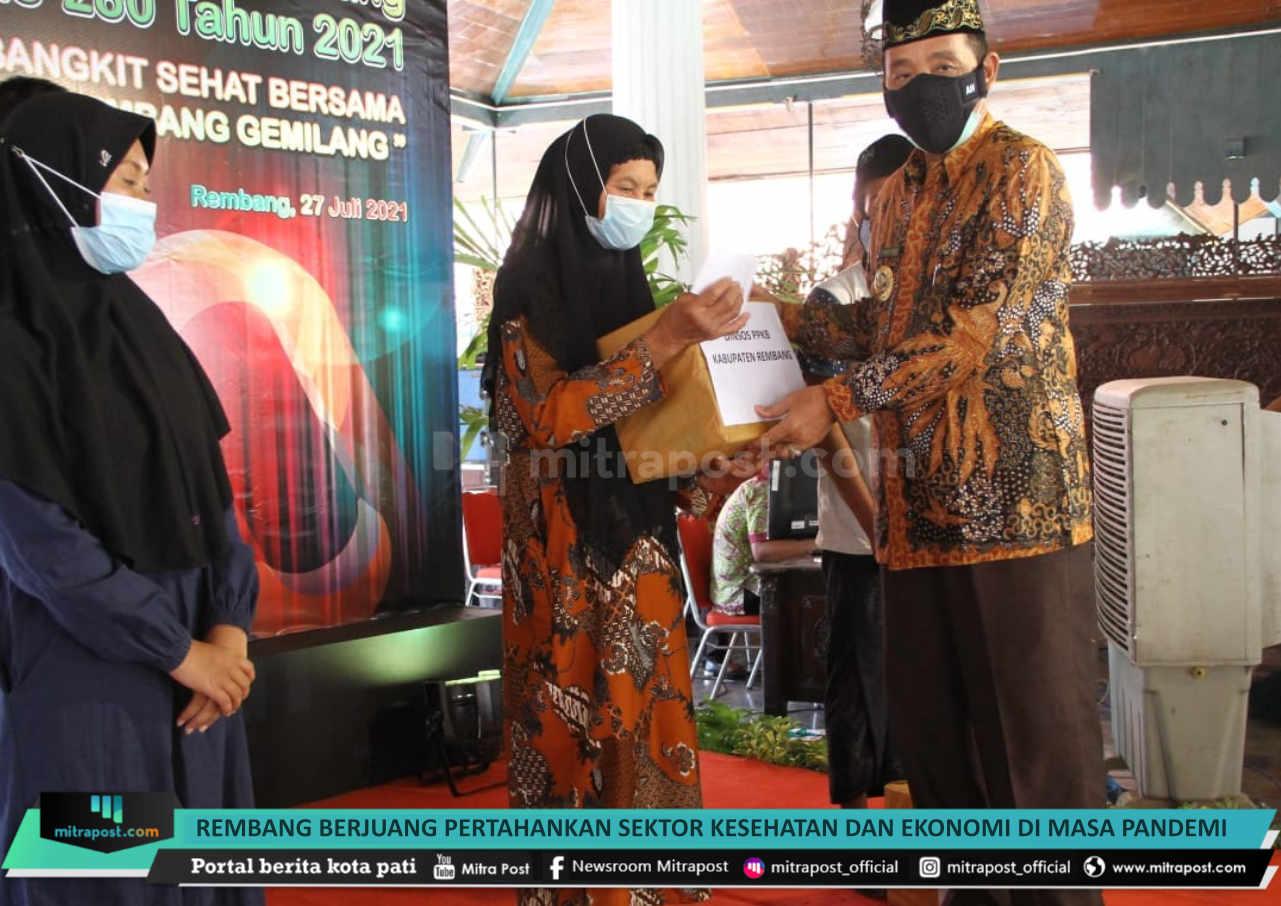 Rembang Berjuang Pertahankan Sektor Kesehatan Dan Ekonomi Di Masa Pandemi - Mitrapost.com