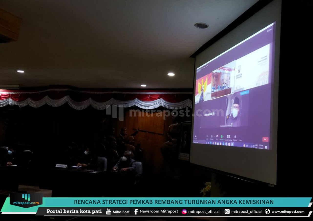 Rencana Strategi Pemkab Rembang Turunkan Angka Kemiskinan - Mitrapost.com