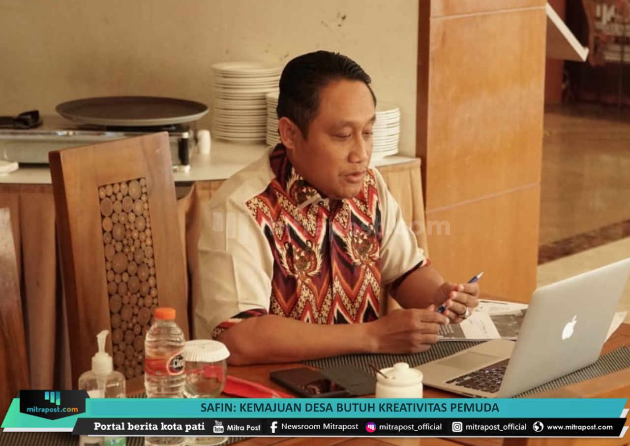 Safin Kemajuan Desa Butuh Kreativitas Pemuda - Mitrapost.com