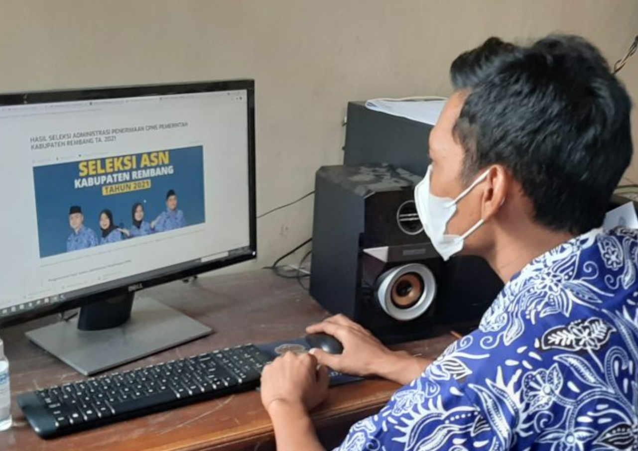 2.543 Pendaftar Cpns Kabupaten Rembang Lolos Seleksi Administrasi