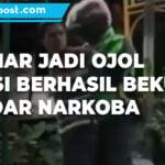 Aksi Polisi Nyamar Jadi Ojol Berhasil Bekuk Bandar Narkoba - Mitrapost.com