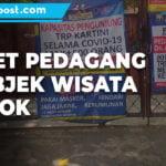 Kegiatan Masyarakat Dibatasi Omzet Pedagang Di Objek Wisata Anjlok 1 - Mitrapost.com