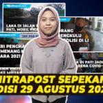 Mitrpoast Sepekan Edisi 29 Agustus 2021 - Mitrapost.com