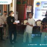 773 Penjaga Sekolah Di Pati Terima Bantuan Rp500 Ribu Dari Baznas