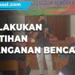 Berpotensi Banjir Bandang Bpd Lakukan Pelatihan Penanganan Bencana Di 5 Desa - Mitrapost.com