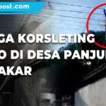 Diduga Korsleting Trafo Di Desa Panjunan Terbakar 1 - Mitrapost.com