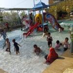 Masuk Ppkm Level 2, Obyek Wisata Water Boom Kajoran Kembali Dibuka