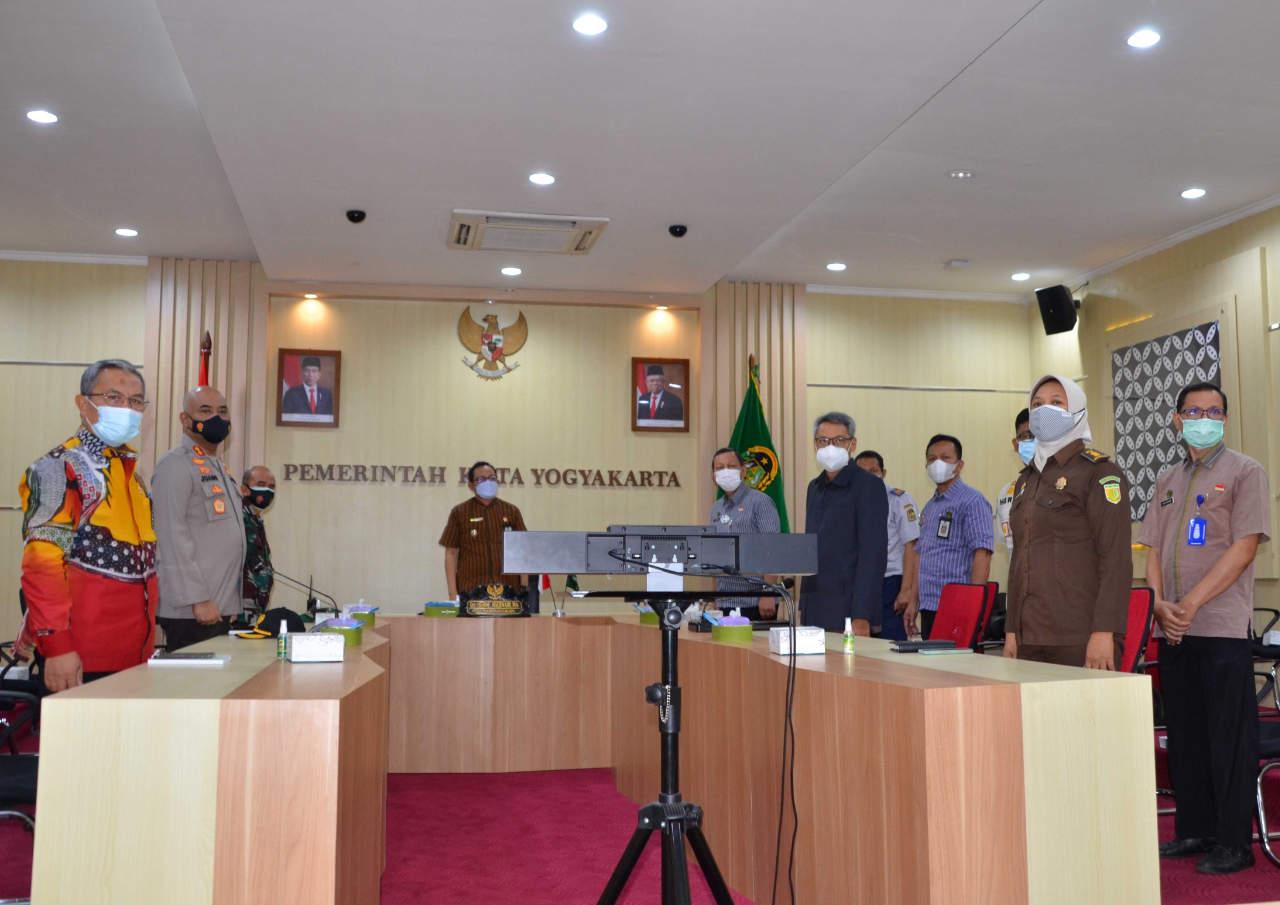 Meski Alami Penurunan, Pemkot Yogyakarta Terus Fokus Tekan Pertumbuhan Covid-19