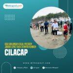 Usai Kunjungan Kerja, Presiden Jokowi Lepas Tukik Di Pantai Kemiren Cilacap