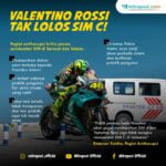 Valentino Rossi Tak Lolos Sim C