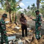 Dandim Rembang Tinjau Pembangunan Jembatan Di Desa Trembes - Mitrapost.com