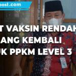 Capaian Vaksinasi 446 Persen Rembang Kembali Masuk Ppkm Level 3 - Mitrapost.com