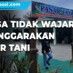 Dintanpan Rembang Menyelenggarakan Pasar Tani - Mitrapost.com