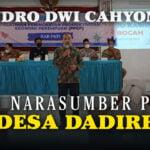 Endro Jadi Narasumber Ppep Di Desa Dadirejo - Mitrapost.com