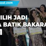 Kenalkan Warisan Budaya Pemdes Gelar Pemilihan Mas Dan Mbak Duta Batik Bakaran 2021 - Mitrapost.com